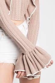 NEW ASILIO Now You're Mine Knit, AU 6, SAND
