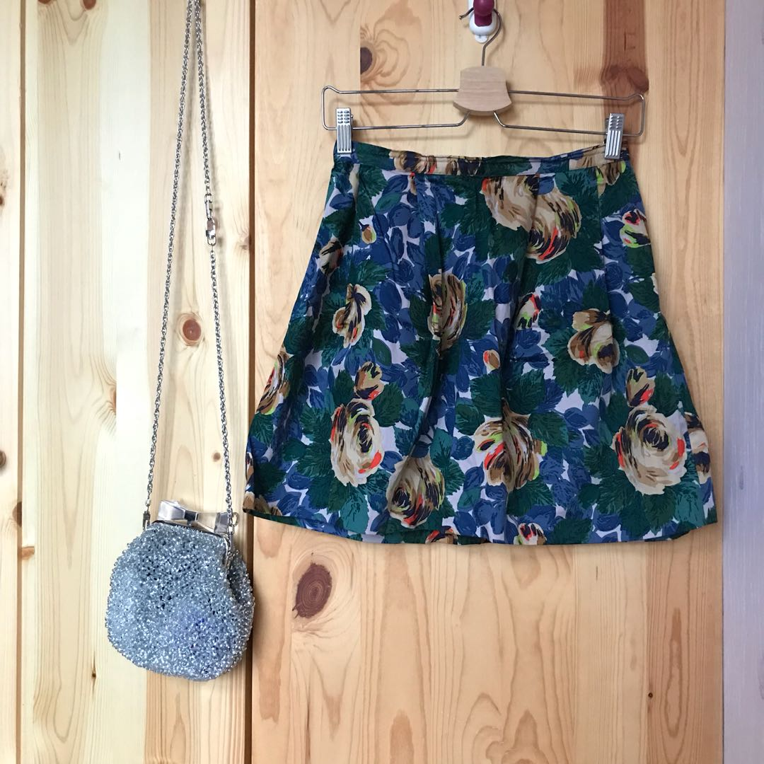 NEW Cath Kidston Floral Skirt