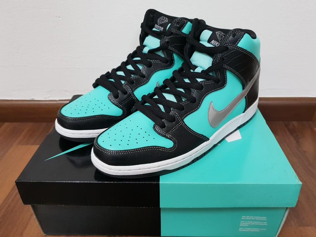 e125022d4b Nike SB Dunk High Premium