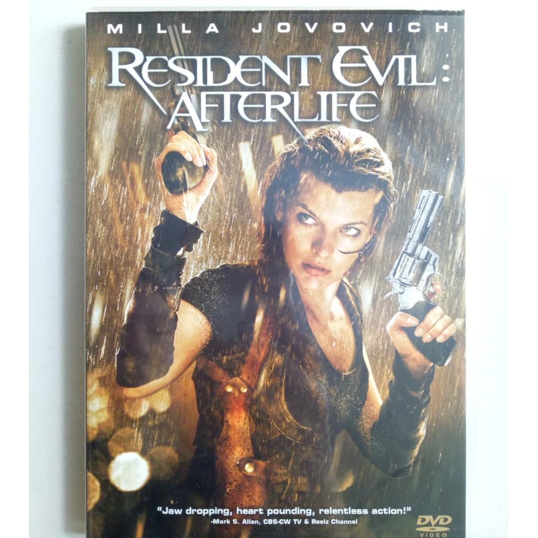 Dvd Resident Evil Afterlife 2010 Music Media Cds Dvds Other Media On Carousell