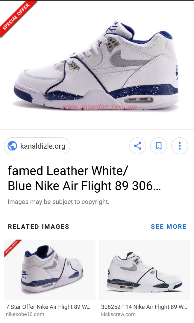 competitive price 2677e 9e8cf Sale Nike Air Flight size 9, Men s Fashion, Footwear, Sneakers on ...