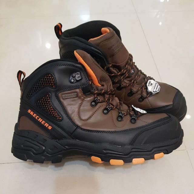 Skechers safety shoes/ steel toe