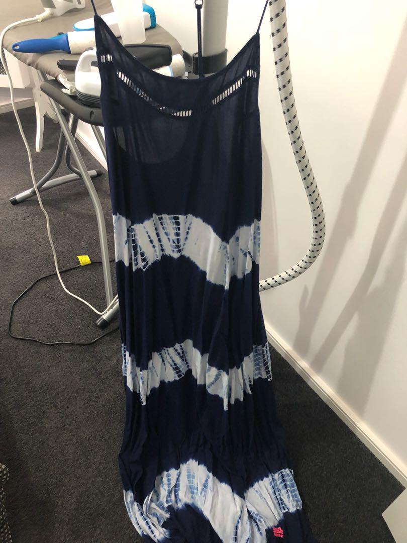 Super Dry maxi dress size L