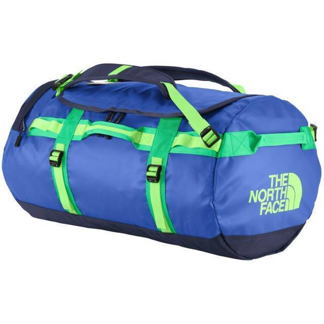 a9fb045d2 The North Face Base Camp Duffel M Size Honor Blue Blarney Green ...