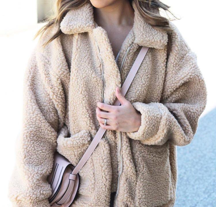 Topshop Teddy Bear Coat BNWT