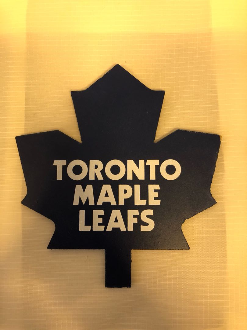 4229bf6e8d8 Toronto Maple Leafs sign, Design & Craft, Others on Carousell