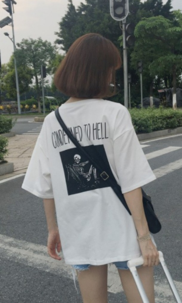 ef4fec971 ulzzang graphic tee, Women's Fashion, Clothes, Tops on Carousell