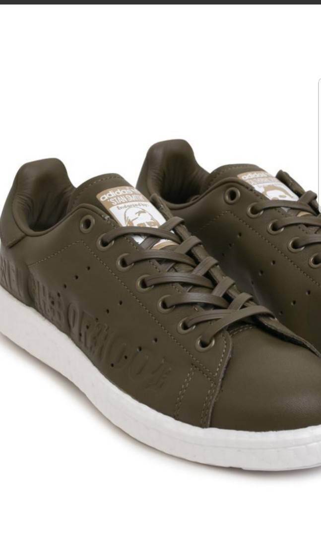 the best attitude f3f5c 95a15 (US9)Adidas Stan Smith Boost NBHD Olive, Mens Fashion, Footwear, Sneakers  on Carousell