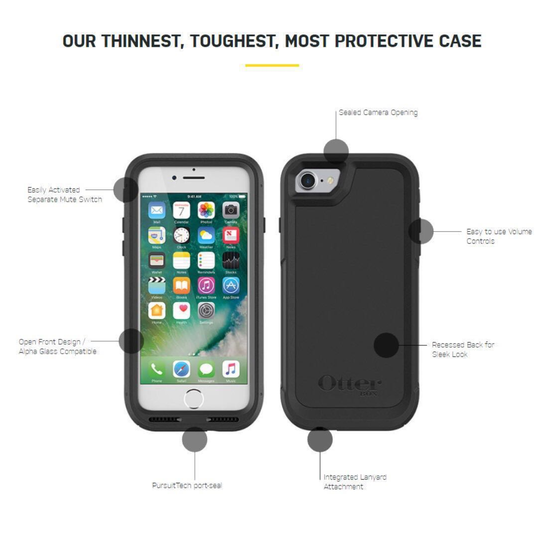 official photos ad550 ddf03 (USED) otterbox pursuit iphone 8 plus