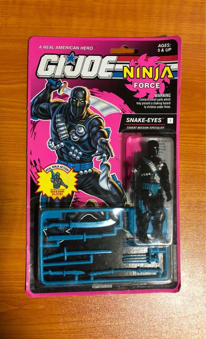 Vintage GI Joe ninja force snake eyes