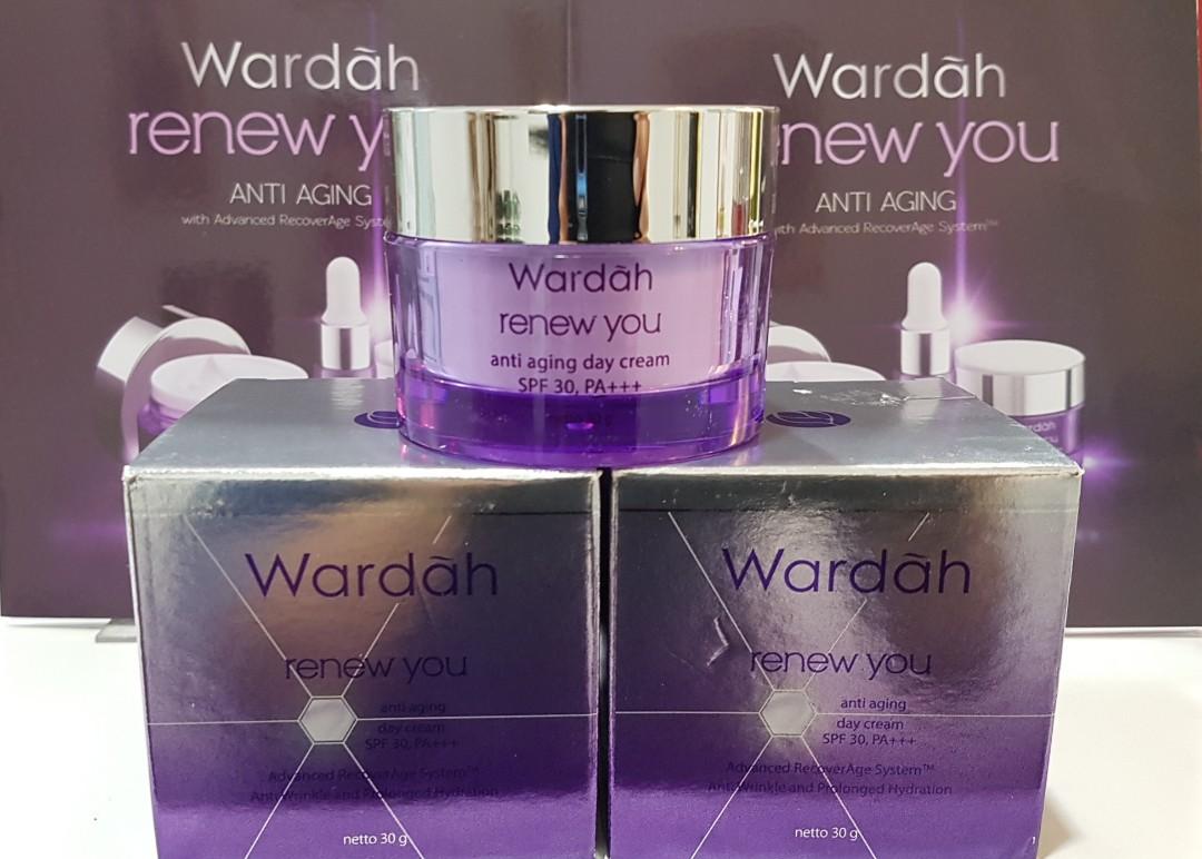 Renew You Anti Aging Day Cream Daftar Harga Terbaru Dan Terupdate Wardah Night 30 G Health Beauty Face Skin Care On Carousell