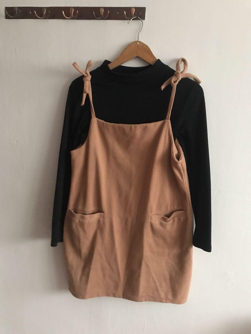 5f375e9b5b0 Wool Dress with Inner