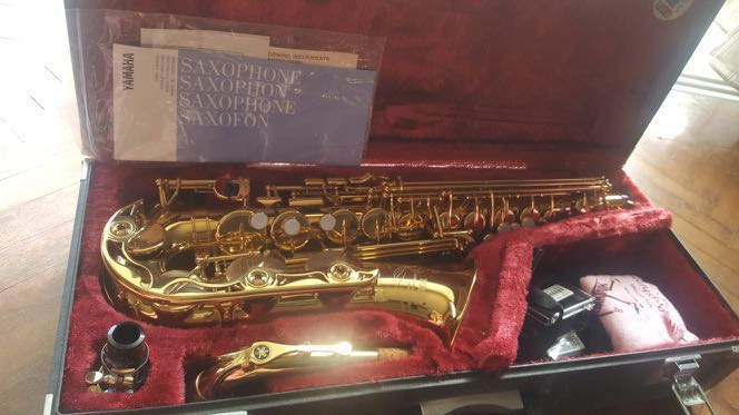 Yamaha Alto Saxophone YAS32E - Used, Music & Media, Music