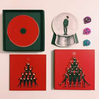 EXO Miracle In December Album & D.O. Snow Globe