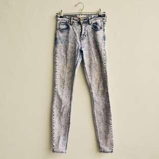 BULLHEAD Acid Wash Skinny Jeans