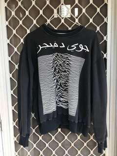 Sweater hoodie Joy Division Arabic