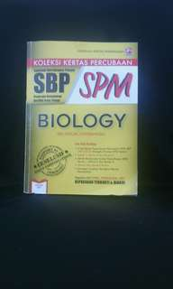 KOLEKSI KERTAS PERCUBAAN SBP SPM BIOLOGY (BILINGUAL/DWIBAHASA) CERDIK #bajet20