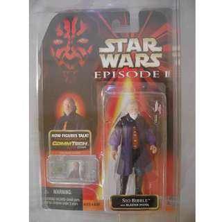 """Star Wars Episode I Sio Bibble 3.75"""" Action Figure with CommTech Chip"""