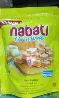 Richeese  Nabati Cheese Wafer - 125 gr x 5 packs [Instock]