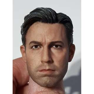 1/6th Bruce Wayne Batman Ben Affleck headsculpt non hot toys justice league