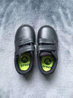 CROCS Brand New - Authentic Uniform Shoes for Boys (Black) C9