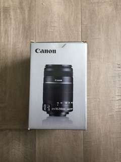 NEW Canon Lens 55-250mm