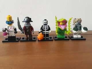 Lego Series 14 Minifigures (Monster Series)