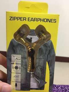 拉鍊式耳機