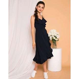 TSW Kezlyn Ruffles Maxi Dress