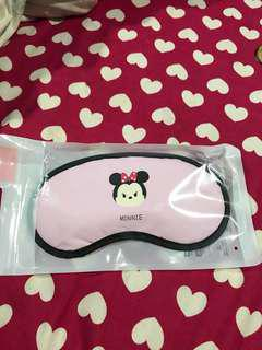 Minnie mouse travel eye mask Brand New