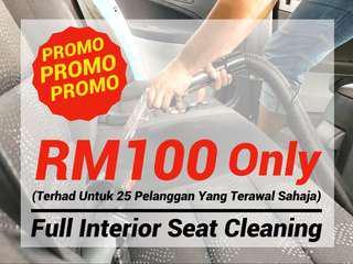 PROMO !! Cuci Seat Kereta / Interior Seat Cleaning