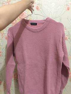 Sweater rajut thumbless