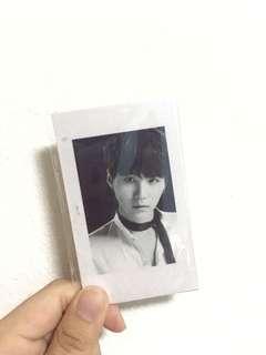 yoongi wings premium photocards
