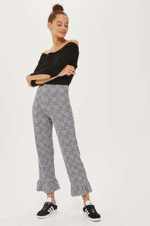 #mcsfashion Authentic Topshop Gingham Ponte Pants