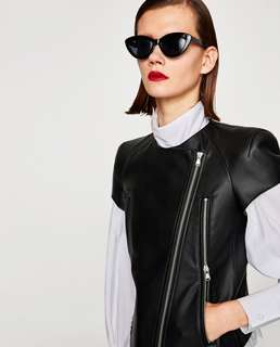 Zara BN with tag faux leather