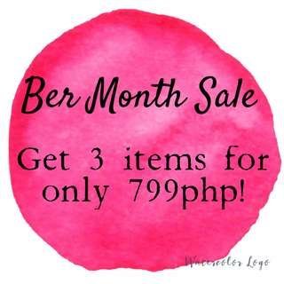 3 items for 750php!