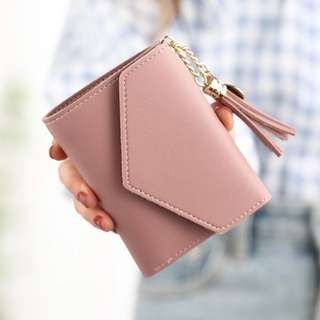 Short Wallet PU leather