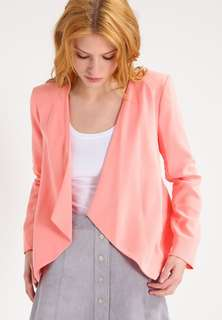 Miss Selfridge waterfall pink jacket size 6 with tag