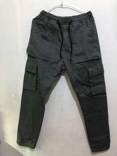 工裝口袋褲 (鐵灰)