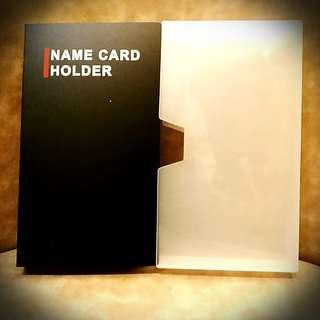 全新 咭片儲存活頁薄 240片 Name Card Holder x 240