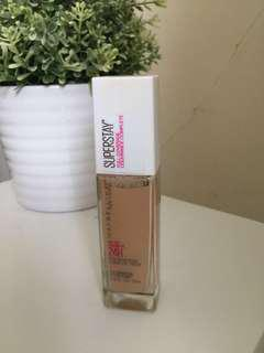 Maybelline Superstay Foundation (Warm Nude)