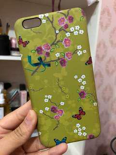 Green case for iphone 6+
