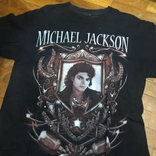 af8052920 Vintage 90s Michael Jackson Tee, Men's Fashion, Clothes, Tops on Carousell