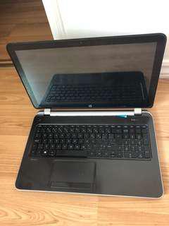 """HP 15"""" touchscreen laptop"""