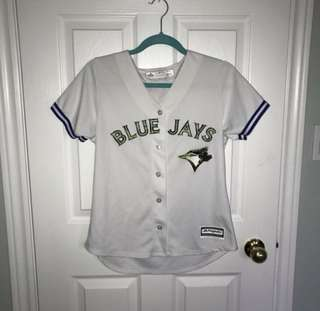 Camo women's blue jays jersey