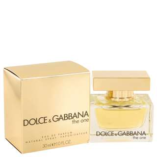 The One Perfume By DOLCE & GABBANA FOR WOMEN 1 oz Eau De Parfum Spray