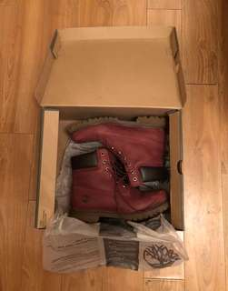 Timberland Red Wine Boots