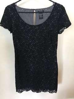 Talula black lace dress