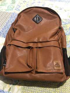 Men's Leather Backpack
