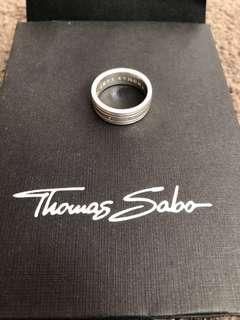 Thomas Sabo signature silver ring